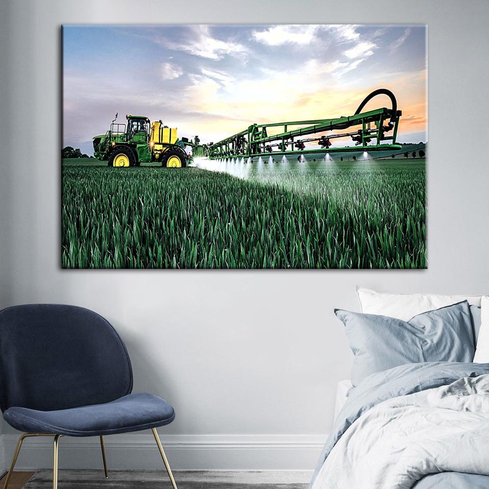 John Deere Home Decor.Us 2 83 40 Off Canvas Painting Wall Artwork Home Decoration John Deere R4038 Poster Hd Prints Modern Modular Pictures For Living Room Framework In