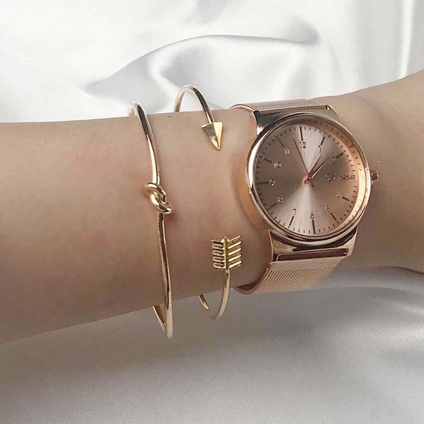 Jewelry & Accessories Bracelets & Bangles Open-Minded 2 Pcs/set New Boho Retro Arrow Gold Chain Women Bracelet Bracciali Pulseiras Feminina Femme Bijoux Pulseras Mujer Charm Jewelry Evident Effect