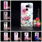 For Coque Huawei Mate S Case Soft Silicone TPU Back Cover 3D Relief Flower Capa For Fundas Huawei Mate S 5.5 inch Phone Cases