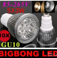 High-quality Lowest price 9W 12w 15w 110V-240V spotlight bulb GU10 E27 MR16 led light lamp cup free shipping