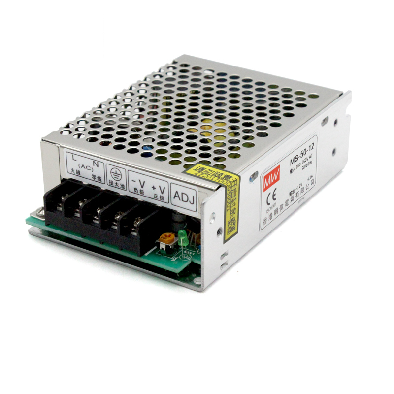MS-50W-12V 4A Switching Mode Power Supply Monitor LED Mini- Small Volume AC Change DC Direct Single Group