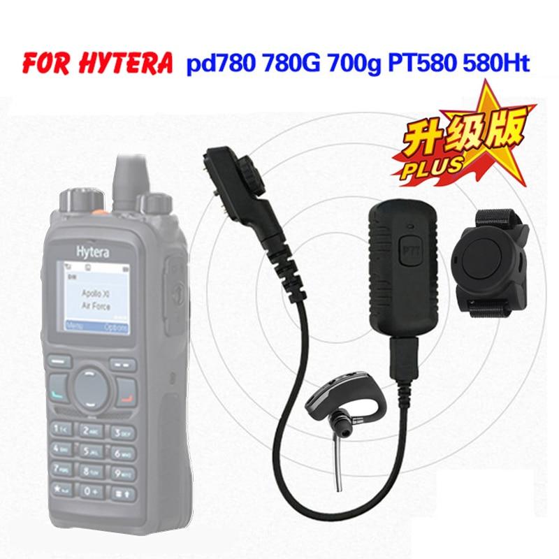 Walkie Talkie Wireless Bluetooth Headset Wireless Headphone Earpiece For HYT Hytera PD700 PD700G PD702G PD705G PD752 PD780 PD782