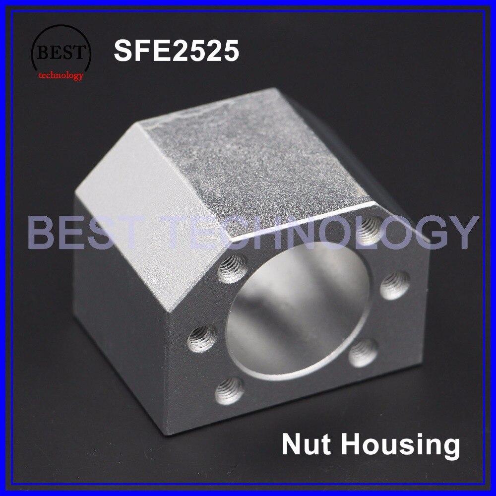 SFE 2525 nut housing SFE2525 ball screw nut housing DSG 25 nut bracketSFE 2525 nut housing SFE2525 ball screw nut housing DSG 25 nut bracket