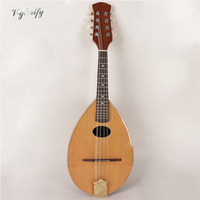 Spruce face single floating mandolin guitar band bag free shipping