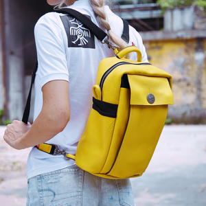 Image 5 - Orabird Womens Leather Backpack Soft Genuine Leather Large Capacity Backpacks Casual City Travel School Bag for Girl 2020
