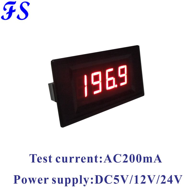 Yb5135b Led Current Meter Ac 100a 200a 300a 500a Ac Ammeter Ac 200ua 2ma 20ma 200ma Ampere Meter 5a 10a 20a 50a Amp Panel Meter Measurement & Analysis Instruments