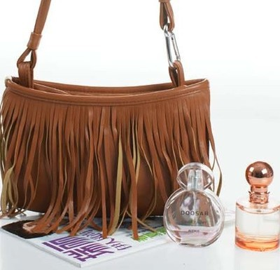 Hot Womens Tassle Shoulder Bag