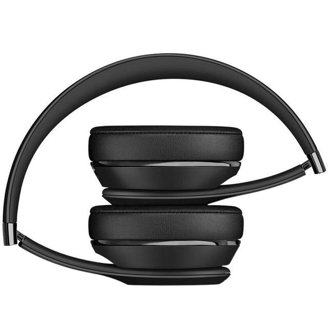 Beats Solo3 On-Ear Gaming Headset Music Hands-free Earphone Black Wireless Bluetooth Headphone
