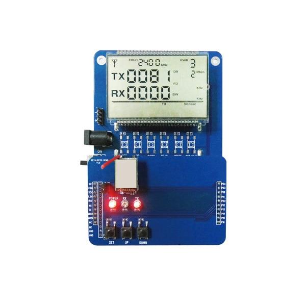 2pcs lot RF Dev board for 2 4G module RF2401F20 functional Debugging DEMO Boards