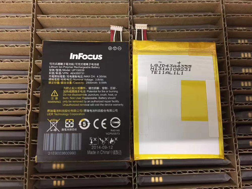 FOR Infocus M512 M510T m511 UP130039 battery Rechargeable Li-ion Built-in lithium polymer battery