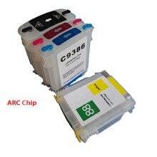 1 Компл. Для HP 88 Emtpy Многоразового Картриджи Для Hp Officejet Pro K5300/K5400/K8600/L7380/L7500/L7580/L7590/L7680/L7780/K550