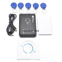 125KHz USB Proximity Access Control Smart Rfid Id Card Reader And Writer Copier 5pcs EM4350 Tag