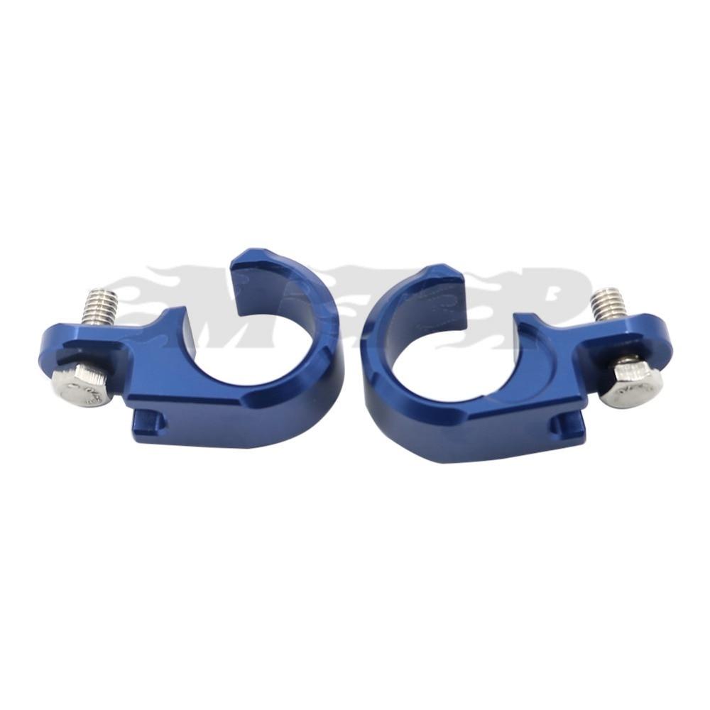 Motorcycle Cnc Front Brake Line Hose Clamp Holder For