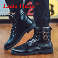 Laite Hebe Martin Men Boots SWAT American Combat Boots Winter Army Retro Shoes Outdoor Waterproof Chelsea Boots Shoes Size 39-44