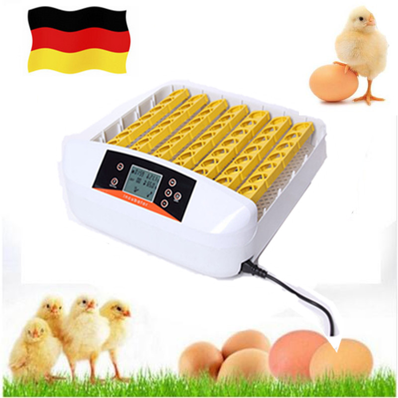 Home Farm  Incubator Chickens Ducks Egg Observation Small Poultry Incubator Automatically Eggs-Turning  Hatcher 48 eggs tray automatic incubator egg tray chickens ducks and other poultry