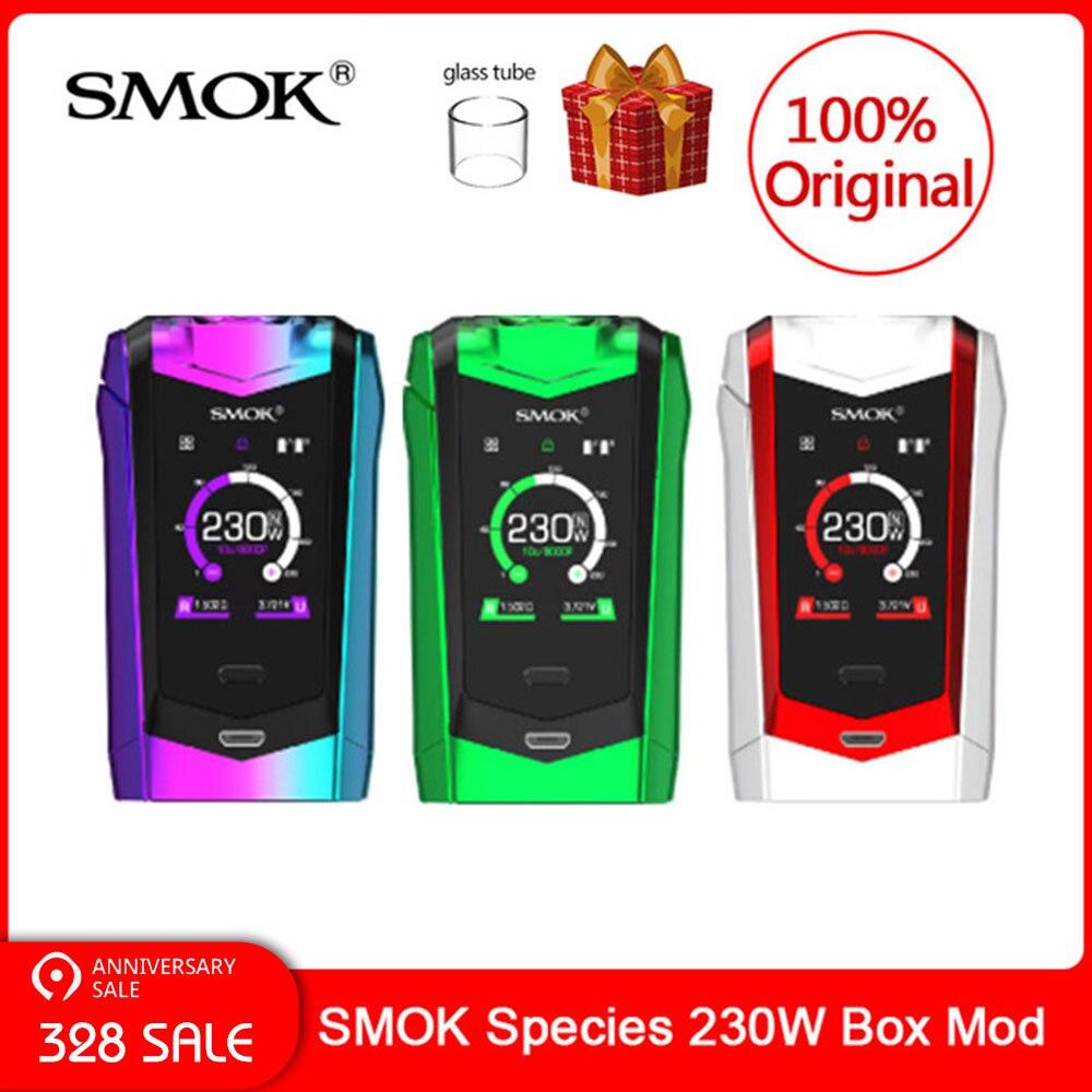 Original SMOK essence Mod 230W écran tactile Mod VW/TC boîte Mod 18650 batterie pour cigarette électronique vape essence kit