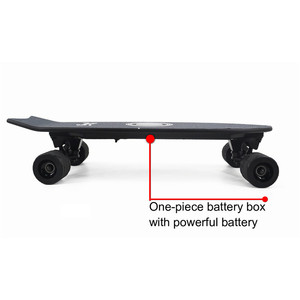 Image 5 - חדש חשמלי סקייטבורד עם מוסיקה קל משקל קטנוע E סקייטבורד E אופניים ליתיום סוללה מופעל עבור למבוגרים