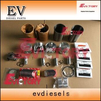 Fully For Cummins engine rebuild A2300 A2300T piston+ piston ring +cylinder liner+ full gasket kit +bearing kit +oil pump
