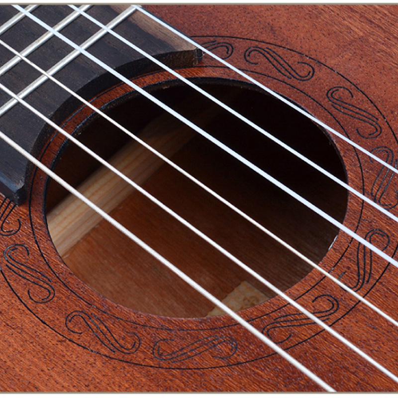 Guitalele Guilele 30 pouces Mini guitare électrique baryton guitares acoustiques 6 cordes Ukelele pick-up guitare de voyage musique - 3