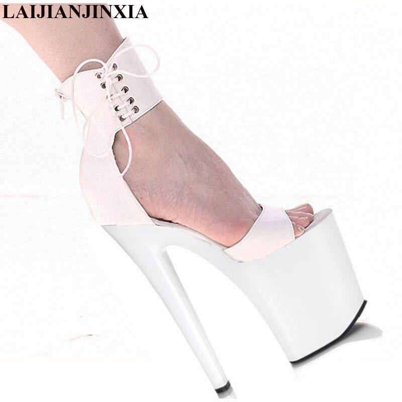 Sexy Vente 8 Pouce Nouveau Peep De Talons 20 Laijianjinxia Chaude Haute Sandales e168 Toe Mariage La Dame E199 Cm Douceur Chaussures Pompes zEwqF5gF