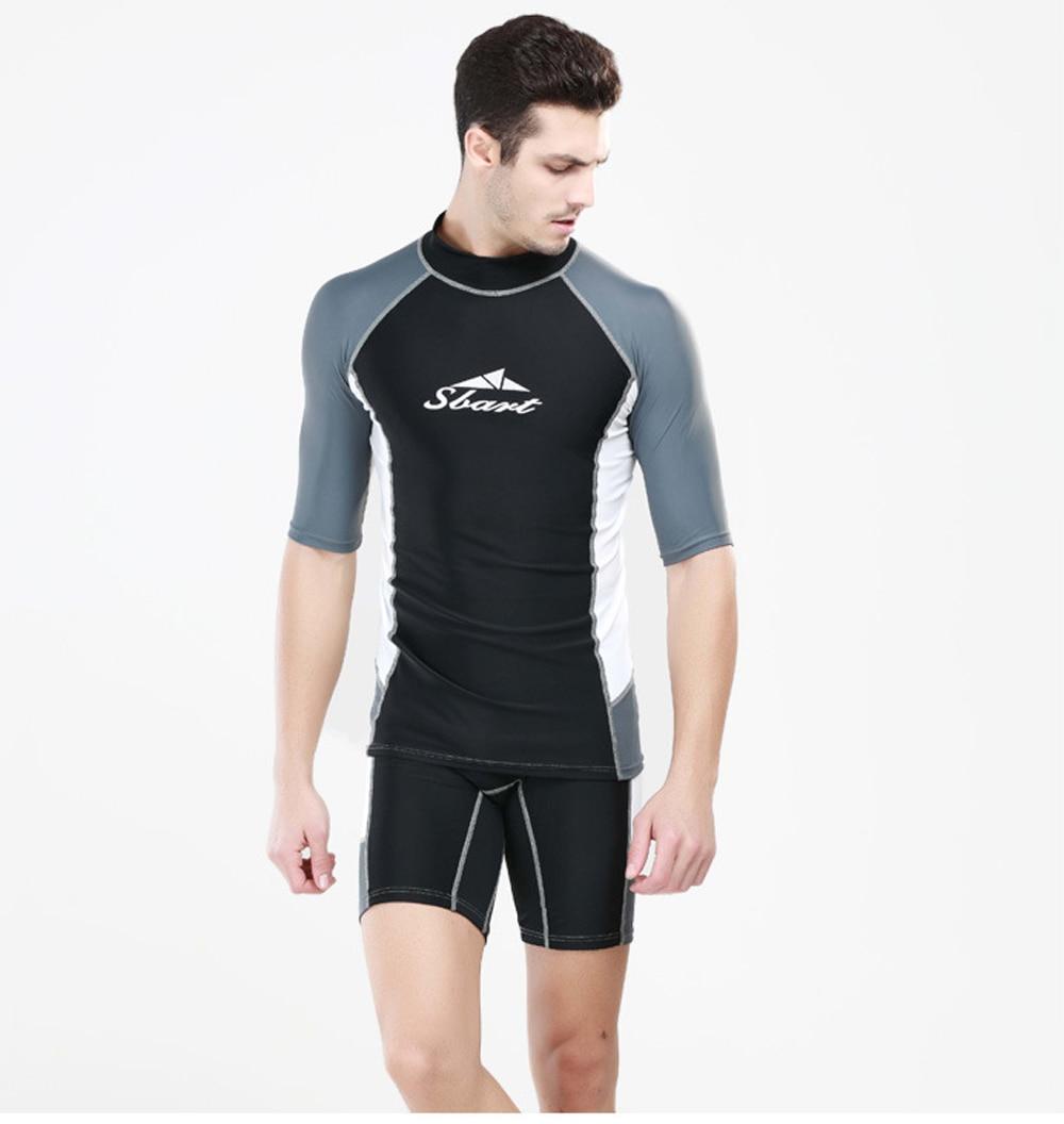 Men Wetsuit Swimsuit Man Diving Suit Uniform Professional ...