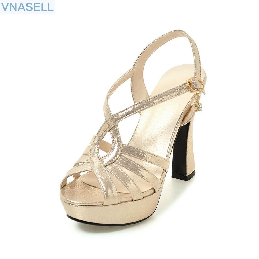 Aliexpress.com : Buy New 2018 Summer Gladiator Sandals Fashion Women Sandal Platform Thick High