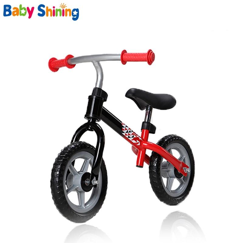 Baby Shining Children Balance Bikes Baby Bike Ride on Cars Outdoor Learn To Walk Get Balance