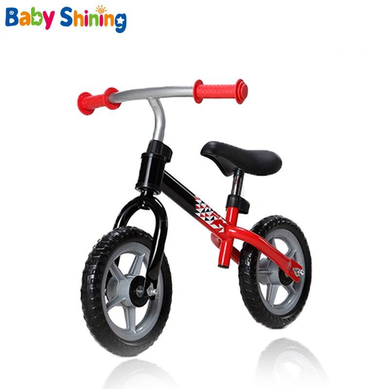 Bébé brillant enfants Balance vélos bébé vélo monter sur les voitures en plein air apprendre à marcher obtenir un sens de l'équilibre pour 2-6Y