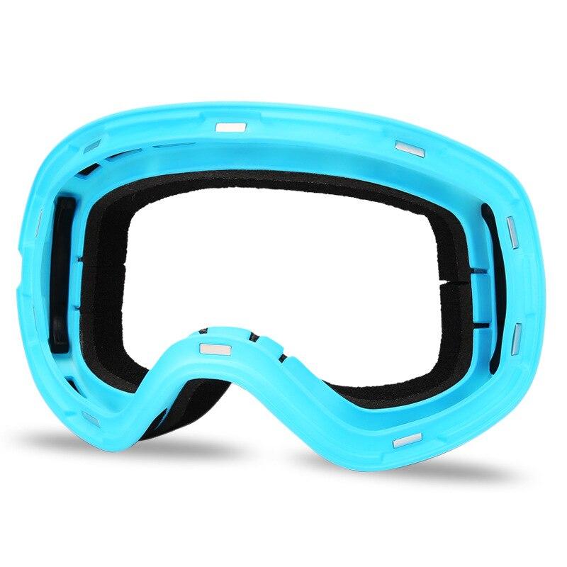 2019 femmes Snowboard lunettes Double Anti-buée hommes neige lunettes sport marque Ski lunettes plein air masque Ski lunettes - 5