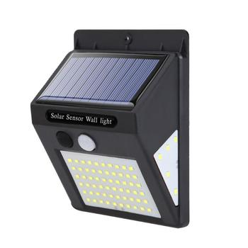 70 LED Solar Power Lamp PIR Motion Sensor Wall Light Outdoor Waterproof Energy Saving Street Garden Yard Security Lamp image