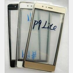 1 шт. ЖК внешнее стекло объектива передняя сенсорная панель для Huawei P9 Lite