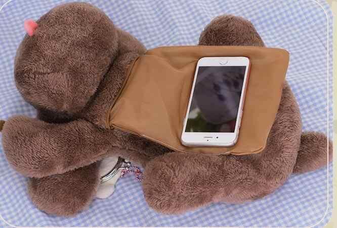 אנימה יורי!!! על קרח חמוד פודל כלב בפלאש בובת צעצוע Crossbody תיק כתף תיק תיק קוספליי מתנות
