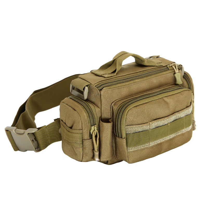 D5column Camping Hunting Travel Hiking Fanny Pack Outdoor Multi Purpose Messenger Bags Military Tactical Sports Waist