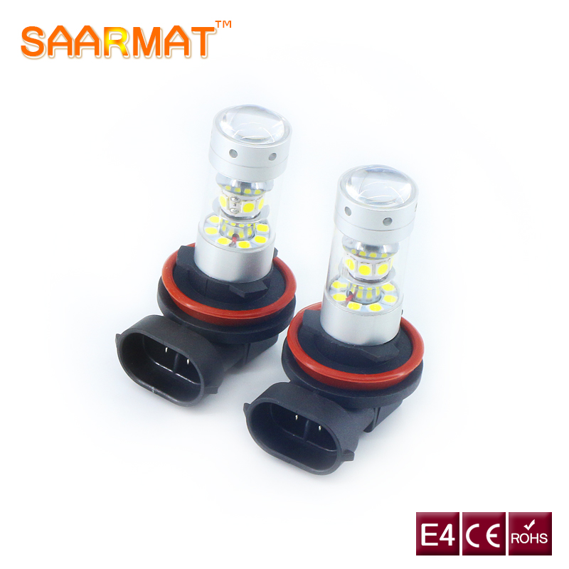 2x Led Plug & Play H11 H8 H9 Auto DRL bulb 140W LED car Fog / Day/ Light Bulb 12V 6000K  ...