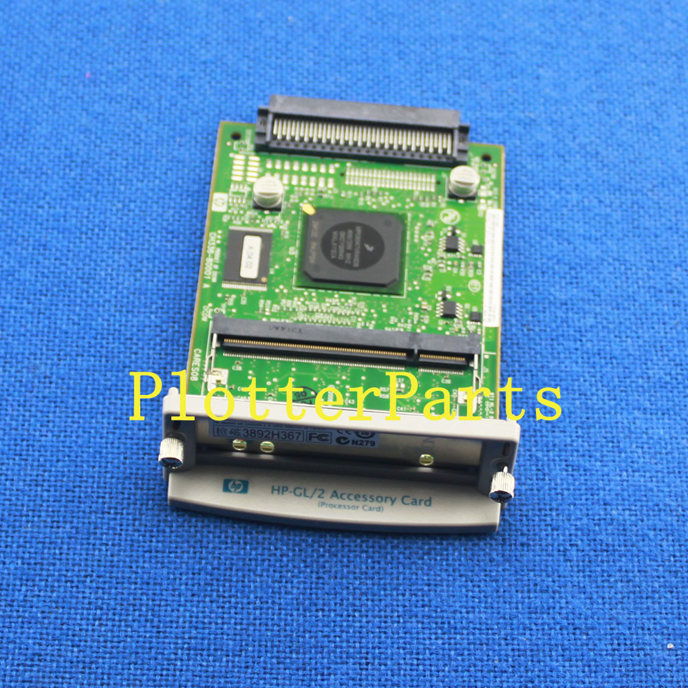 CH336-80001 Main logic PC board for HP DesignJet 510 plotter parts Original Used electronics module formatter main logic board for hp designjet 510 510ps ch336 67002 plotterparts original used plotter parts