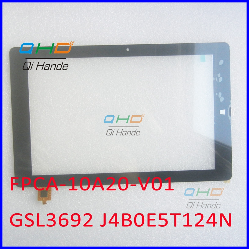 FPCA-10A20-V01 10.1 Inch 10A20B01 New Touch Screen Panel Digitizer Sensor Replacement IC code GSL3692 J4B0E5T124N / L5B0E67407N