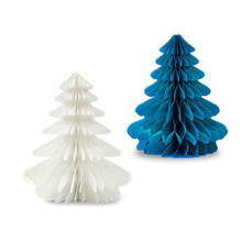 new year christmas trees tissue paper trees for christmas party christmas centerpiece ornament window decor tree decor - Cheap Christmas Trees Online