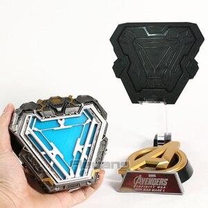 Image 5 - Iron Man MARK L MK50 Arc Reactor with LED Light 1/1 Prop Replica PVC Figure Model Toy