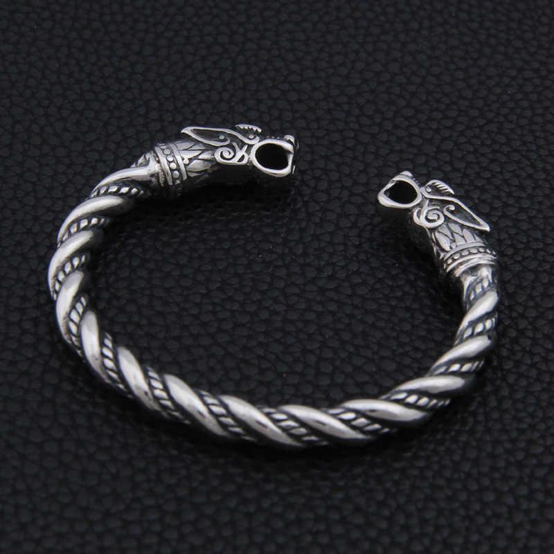 נירוסטה הדרקון צמיד תכשיטי אופנה אביזרי ויקינג צמיד גברים צמיד קאף צמידים לנשים צמידים
