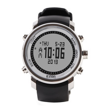 Mens watches top brand luxury EZON outdoor sports men 50 atm multifunction climbers table compass chronograph wristwatch alarm