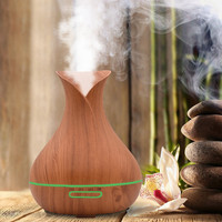 Air Aroma Humidifier Ultrasonic Air Aromatherapy Essential Oil Diffuser 400ml Incense Oil Burner Living Room Decoration