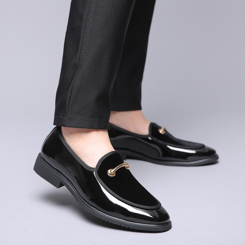 Formal Shoes 2019 Newest Fashion Men Formal Mariage Wedding Party Shoes High Quality Pointed Toe Business Shoes Men Loafers Oxford Shoes Shoes