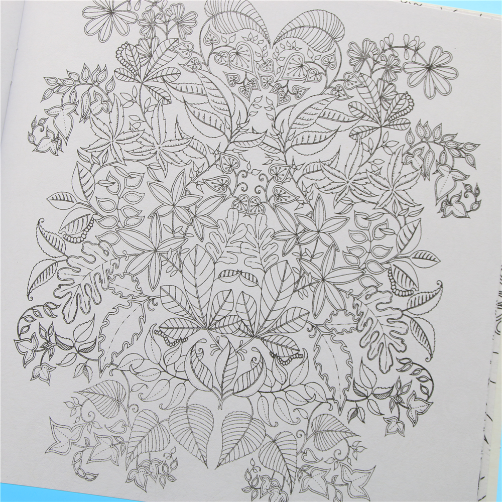 Aliexpress Buy 1 Pcs 24 Pages Secret Garden English Edition Coloring Book For Children Adult Relieve Stress Kill Time Painting Drawing From