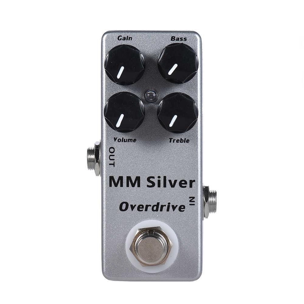 Moskyaudio Mini Guitarra efecto Pedal Overdrive, retraso, distorsión, boost, pedales de preamplificador