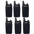 6pcs Retevis RT22 Walkie Talkie UHF 400-480MHz 2W 16 CH CTCSS/DCS TOT VOX Scan Squelch uhf Frequency CB Radio Communicator A9121