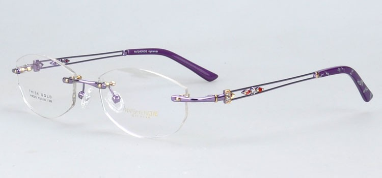n8025zi rimless phantom optical eyewear frame