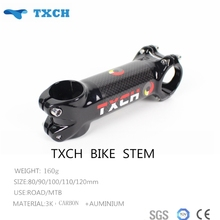 Newest TXCH Matte/gloosy Carbon+auminium Stem Bicycle Parts Cycling Stem Free Shipping