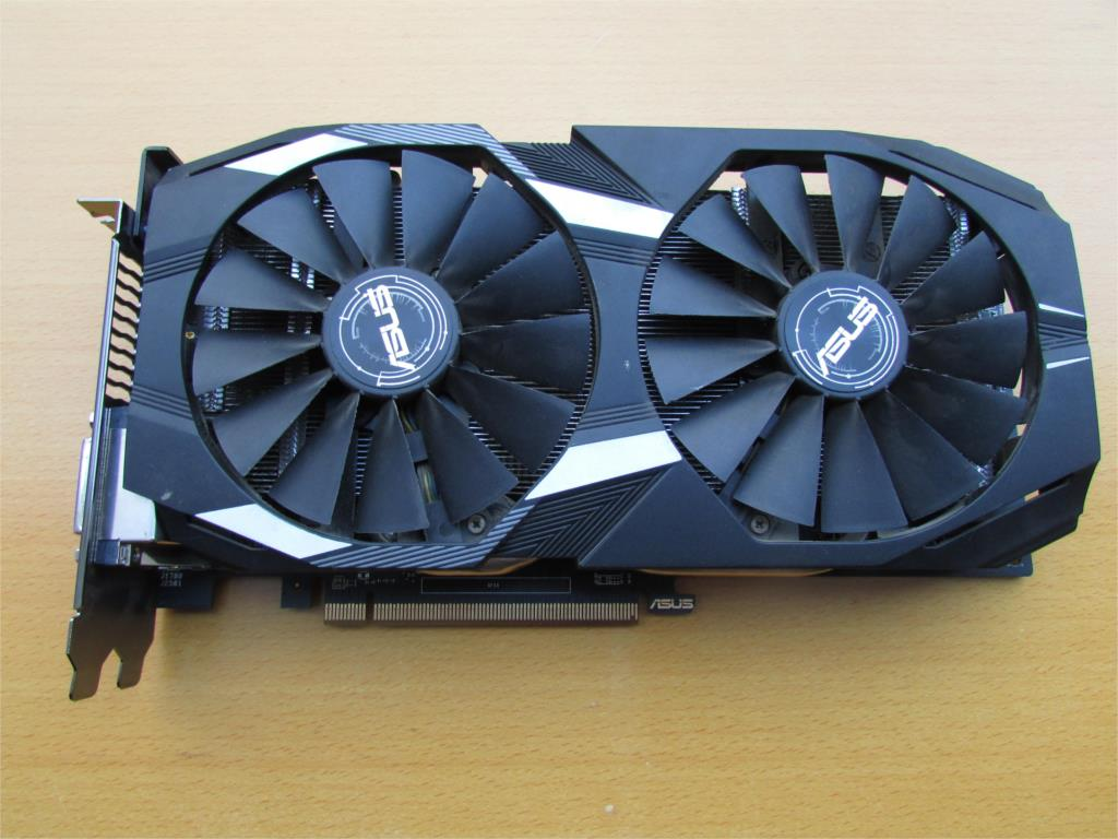 ASUS <font><b>RX580</b></font> 4G graphics card used 90%new , image