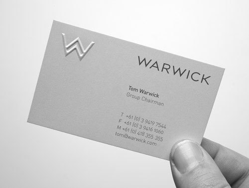 2016 New Design Custom Embossed Business card Printing Visit card