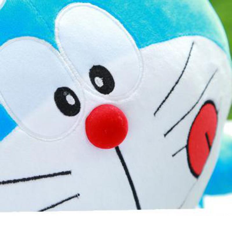 70cm Doraemon Kawaii caricatura suave muñeca de peluche de juguete Animal de peluche para bebés niñas niños amantes niños regalo de Navidad de buena calidad - 3